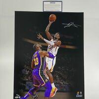 Autographed/Signed DEANDRE AYTON Phoenix Suns 16x20 Basketball Photo Steiner COA
