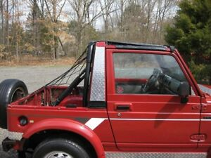Awesome Suzuki Samurai Diamond Plate Behind door covers very cool FREE SHIPPING!