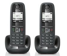 KIT 2 TELEFONI CORDLESS SIEMENS GIGASET AS405 DUO BLACK