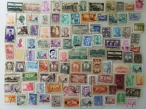 100 Different Syria Stamp Collection