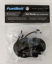 FuelBelt Gel-Ready Race Number Belt Black