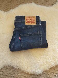 Levis 508 W29 L27 Mens Blue Denim Jeans 100% Cotton Pants