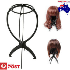 Folding Plastic Stable Durable Wig Hair Hat Cap Holder Stand Display Tool 1pc AU