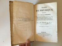 Guilloud Trattato Di Fisica Applicata Alle Arti E Mestieri Raynal 1827