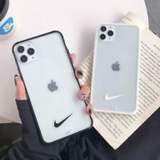 Nike Logo Simple Fashion Couple Phone Case Cover For iPhone11ProMax 7 8Plus XR X