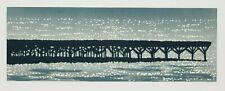 Richard Bosman: Jetty, 1991. Signed, Numbered, Fine Art Print