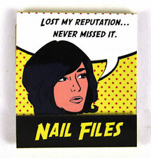 Pop Art Nail Files Lost My Reputation. Never Missed It
