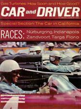 CAR & DRIVER 1962 AUG - HOT TR-4, CALIFORNIA & RACE SPECIALS, EMPI-CORVAIR
