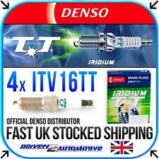4x DENSO ITV16TT IRIDIUM SPARK PLUGS FOR FORD PUMA 1.4 16V 11.97-10.00