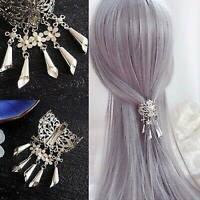 Slide Accessories Pins Barrettes Hair Comb Women's Flower Crystal Clips Grips