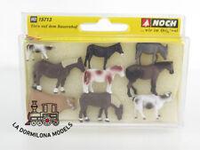 animales en la granja-nuevo en caja original Aún 15713 h0 figuras 1:87