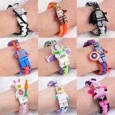 Toy Story 4 Buzz Lightyear Bracelet Building Blocks Toys Action Figures
