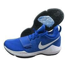 free shipping 50a23 28160 Nike PG 1 Paul George Basketball Shoes Game Royal Blue White 878627 400 Size
