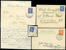 POLAND WW2 FPO 1944-45 ARMY POSTMARKS 4 TYPES 3 COVERS