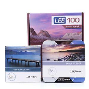 Lee Filters LEE100 Landscape Kit 0.6 ND Medium Grad & Little Stopper & 77mm