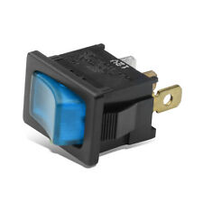 Universal 16A Blue Led Power On/Off Mini Rocker Toggle Switch 3 Pin 12V ACC GND
