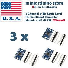 3PCS 8 Channel 8-Bit Logic Level Bi-directional Converter Module TXS0108E 3v3 5v