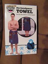 The HANDYMAN TOWEL~For the Bath or Beach~NEW in BOX