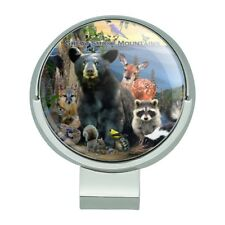 Great Smoky Mountains National Park NC Golf Hat Clip With Magnetic Ball Marker