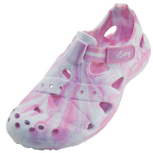 New Women's Solid Camo Comfort Clog Outdoor Garden Closed Toe Slipper Sandal