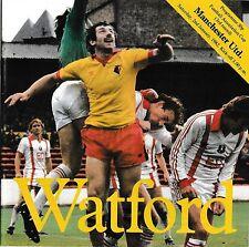 Football Programme>WATFORD v MAN UTD Jan 1982 FAC