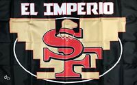 San Francisco 49ers El Imperio NFL Flag 3x5 ft Sports Banner Man-Cave Garage