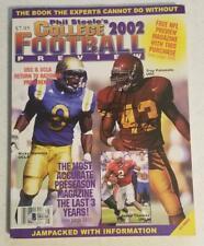 2002 Magazine USC Trojans TROY POLAMALU auto signed BECKETT BAS