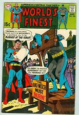 World's Finest #186 VG August 1969 Classic Bat-Witch story Adams cover