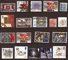 ROYAUME UNI  19 timbres oblitérés sujets divers  99T2
