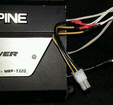 Alpine 4 PIN 2 Canali Altoparlante High Level Input Cavo AMPLIFICATORE CAR AUDIO