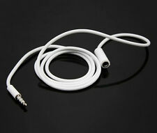 3.5mm Aux Auxiliary Headphone Extension Cable For iPhone 6S 5S 4 iPod Car Stereo