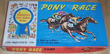 Pony Race (Board Game) by Warren Paper Products Co.