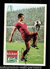 Roland Kiefaber 1 FC kaierslautern Bergmann SB 1968-69 ORIG. Sign + a 64762