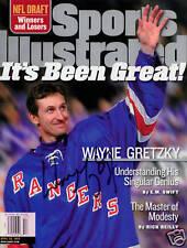 Wayne Gretzky NY Rangers SIGNED Sports Illustrated COA!