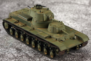 5M resin finished model turnable turret 1/72 Soviet SMK double turret heavy tank