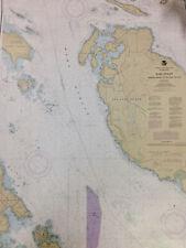 NAUTICAL CHART 18433 Haro Strait, San Juan Island, WA,  SAIL KAYAK WALLPAPER