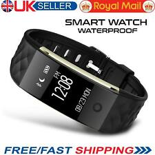 S2 Bluetooth Smart Watch Heart Rate Monitor Bracelet Fitness Tracker Pedometer