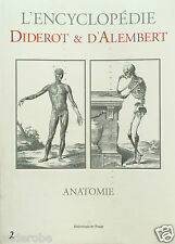 DIDEROT/d'Alembert 1700s MEDICAL/HUMAN ANATOMY/Skeleton/ Structure MANY PLATES!