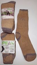 3 Pairs Ladies Sz 7-11 Beige Merino Wool Thermal Cushion Foot Work Socks