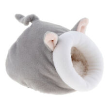 Warm Small Animals Bed Pet Nest Hamster Bed Rat Hedgehog Squirrel House gray