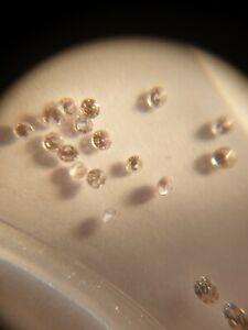 ARGYLE PINK Diamonds 25pcs 0.07ct - GENUINE - NATURAL