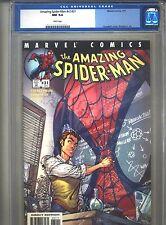 Amazing Spider-Man v2 #31 CGC 9.4 (2001) #472 Ezekiel & Morlun