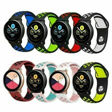 For Samsung Galaxy Active Silicone Sports Strap Breathable Band
