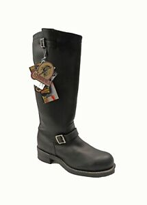 "Men's 18"" Chippewa Tall Motorcycle Engineer Boot Sz 11 D 27909 Black NEW USA"