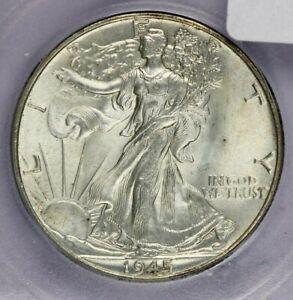 1945-P 1945 Walking Liberty Half Dollar ICG MS64