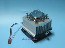 20w 50w 100W LED Aluminium Heat Sink Cooling Fan 44mm Lens + Reflector Bracket