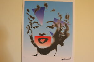 Andy WARHOL lithograph Georges Israel Leo Castelli New York N.Limited Marilyn Mo