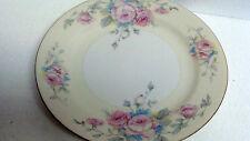 Vintage Registered Celebrate ROSES  9 3/4'' Dinner Plate Made in Japan GOLD TRIM