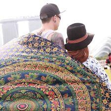 Arazzo Indiano Mandala Da Appendere Muro Psichedelica Hippie Gypsy Bohemien Elefante