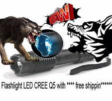 Tourch Police Self-defense Electric Shock LED Flashligh;